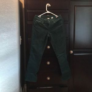 J. Crew city fit corduroy pants